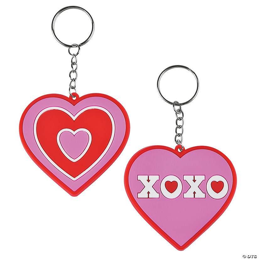 Valentine S Day Heart Keychains Discontinued