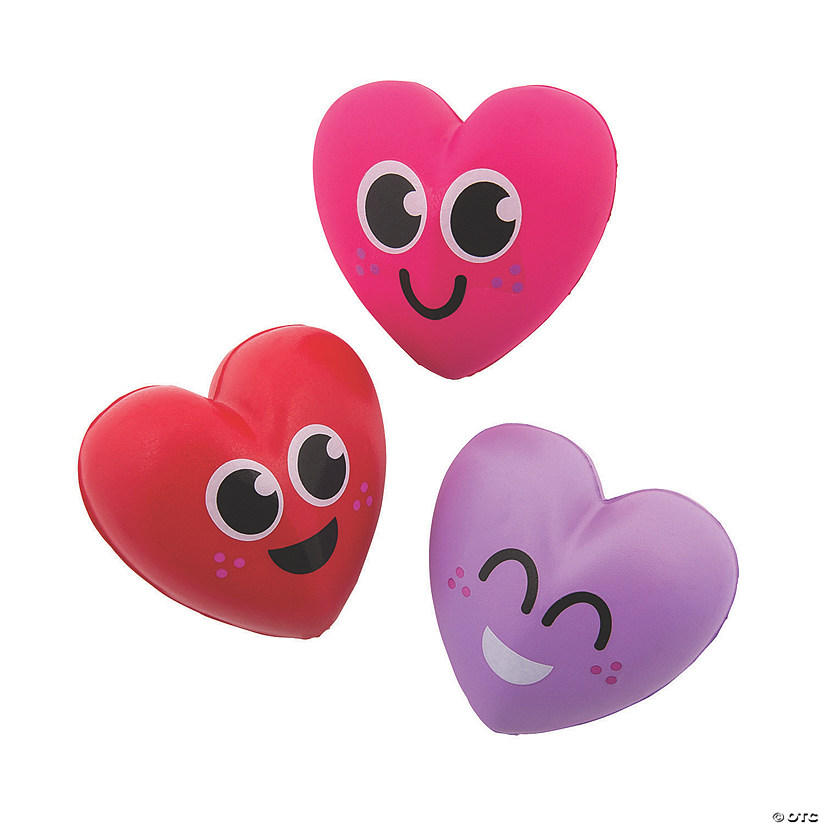 Valentine's Day Heart Slow-Rising Squishies Image Thumbnail
