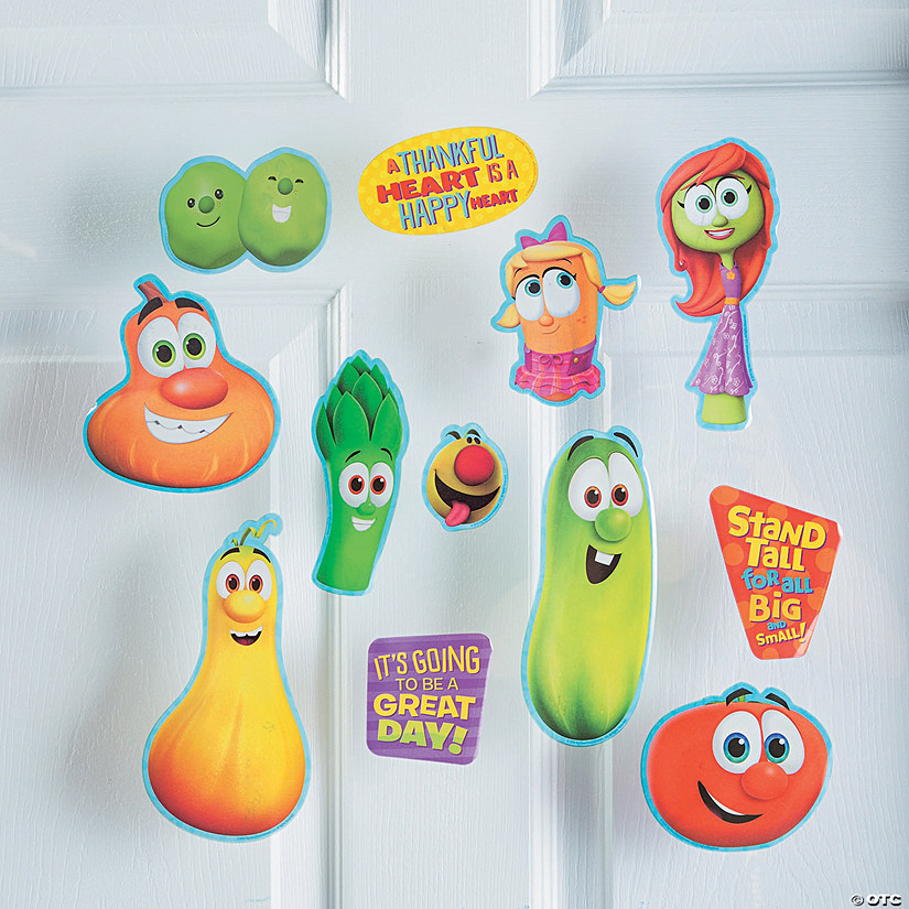 VeggieTales® Window Clings Audio Thumbnail