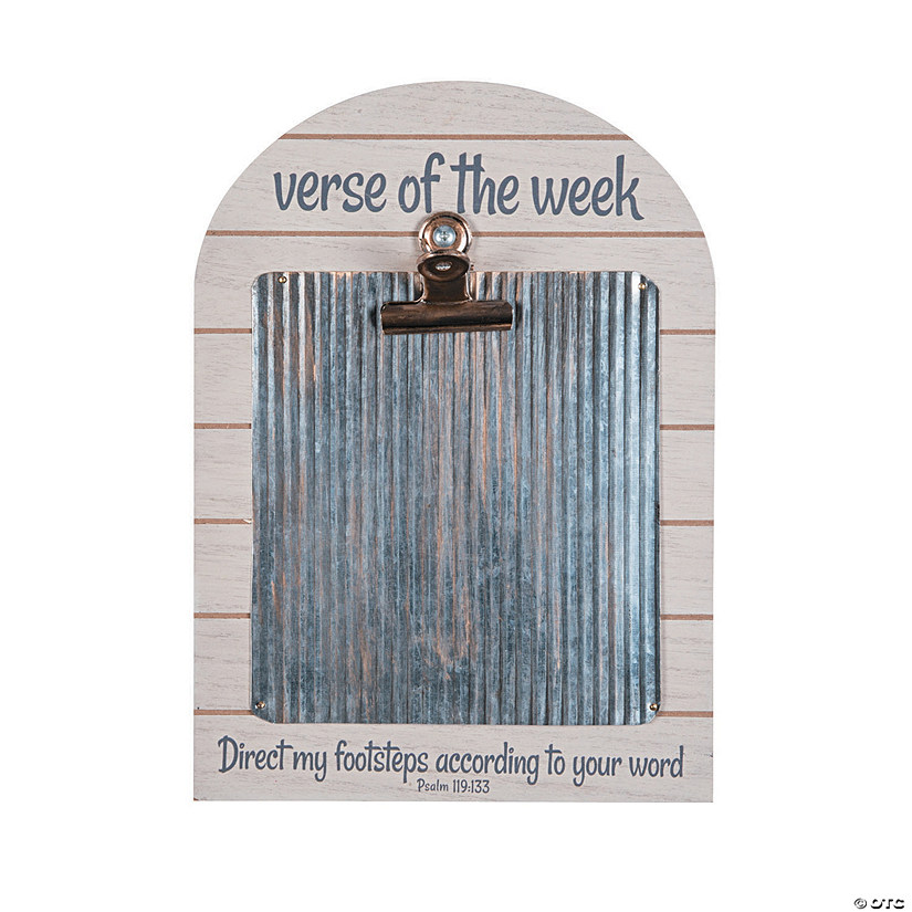 Verse of the Week Clipboard Sign Image Thumbnail