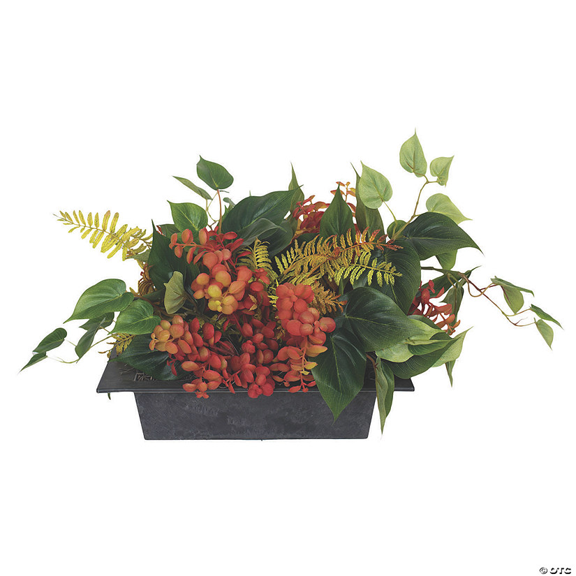 "Vickerman 12"" Artificial Mixed Greenery Arrangement Audio Thumbnail"