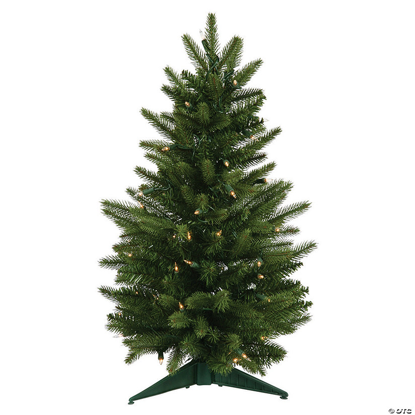 "Vickerman 24"" Frasier Fir Christmas Tree with Clear Lights Image Thumbnail"