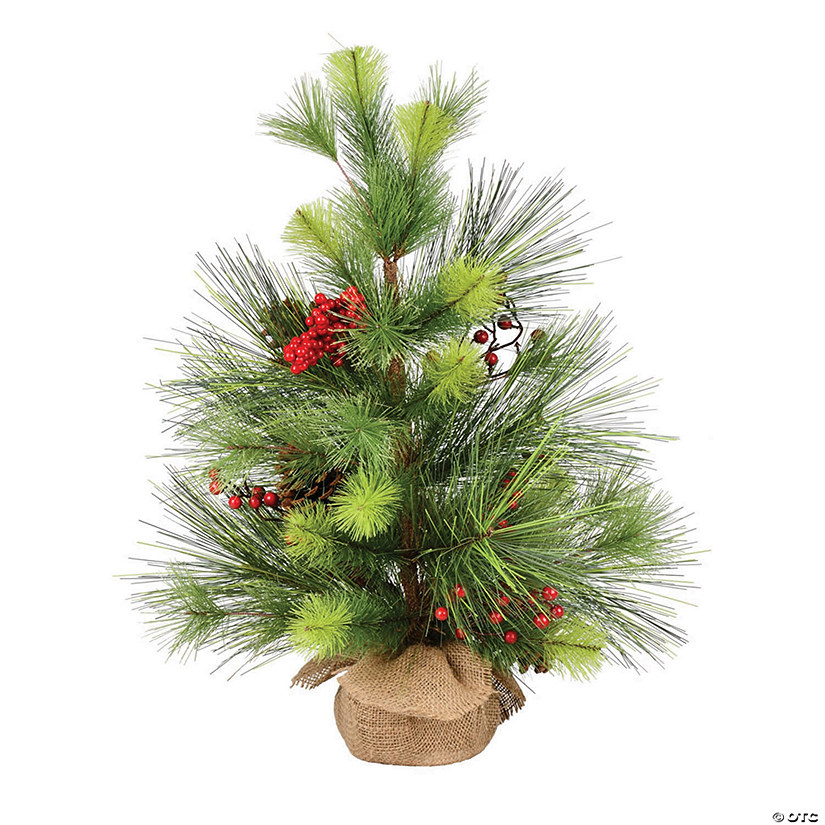 "Vickerman 24"" Morris Pine Tree Image Thumbnail"