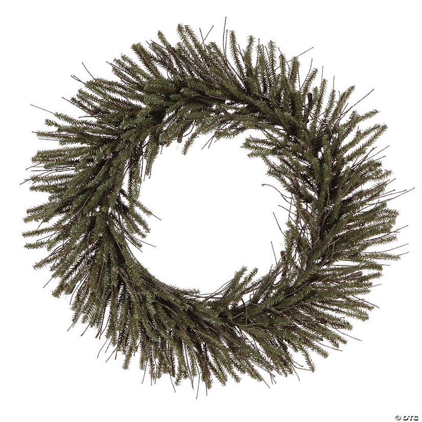 "Vickerman 24"" Vienna Twig Christmas Wreath - - Unlit Image Thumbnail"