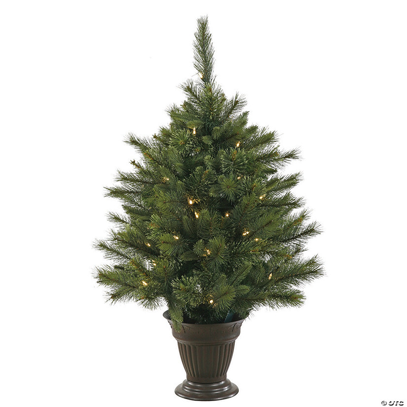Vickerman 3.5' Cashmere Christmas Tree with LED Lights Audio Thumbnail
