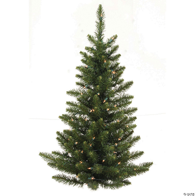 Vickerman 3' Camdon Fir Christmas Wall Tree with Clear Lights Image Thumbnail