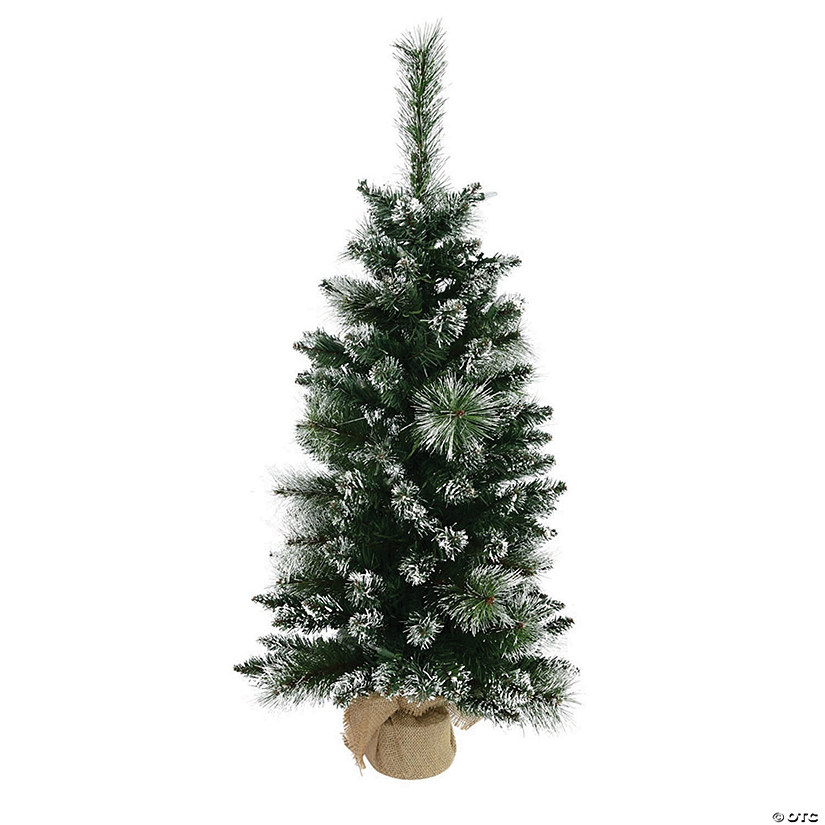 Vickerman 3' Snow Tipped Mixed Pine and Berry Christmas Tree - Unlit Image Thumbnail
