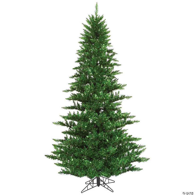 Vickerman 3' Tinsel Green Fir Christmas Tree - Unlit Image Thumbnail