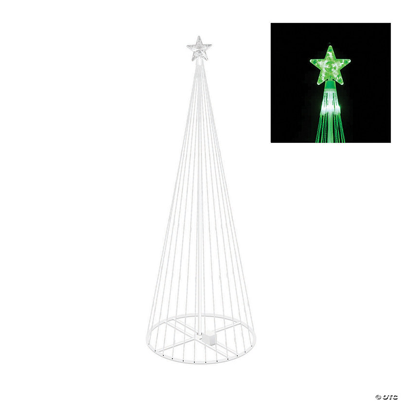 Vickerman 4' Christmas Show Tree with Green LED Lights Audio Thumbnail
