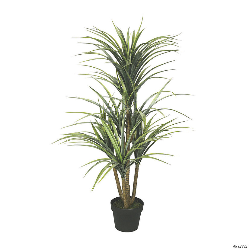 "Vickerman 40"" Artificial Green Yucca - Featuring 7 Heads Audio Thumbnail"