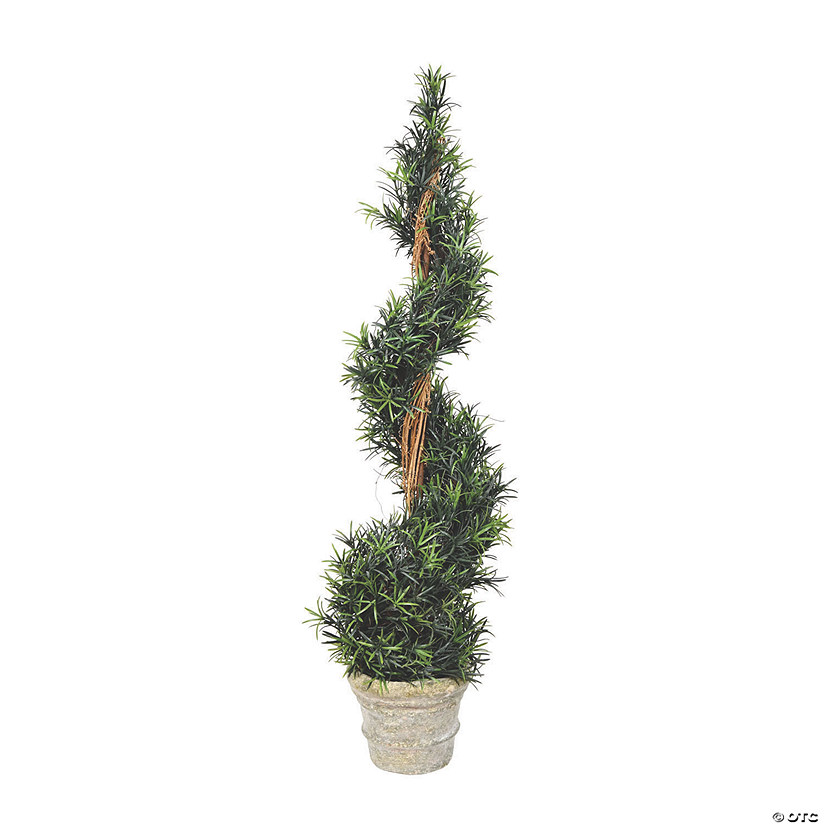 "Vickerman 45"" Rosemary Spiral with Paper Pot Audio Thumbnail"