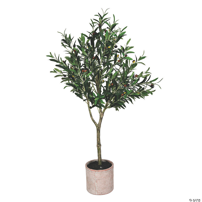 "Vickerman 48"" Olive Tree in Pot Audio Thumbnail"