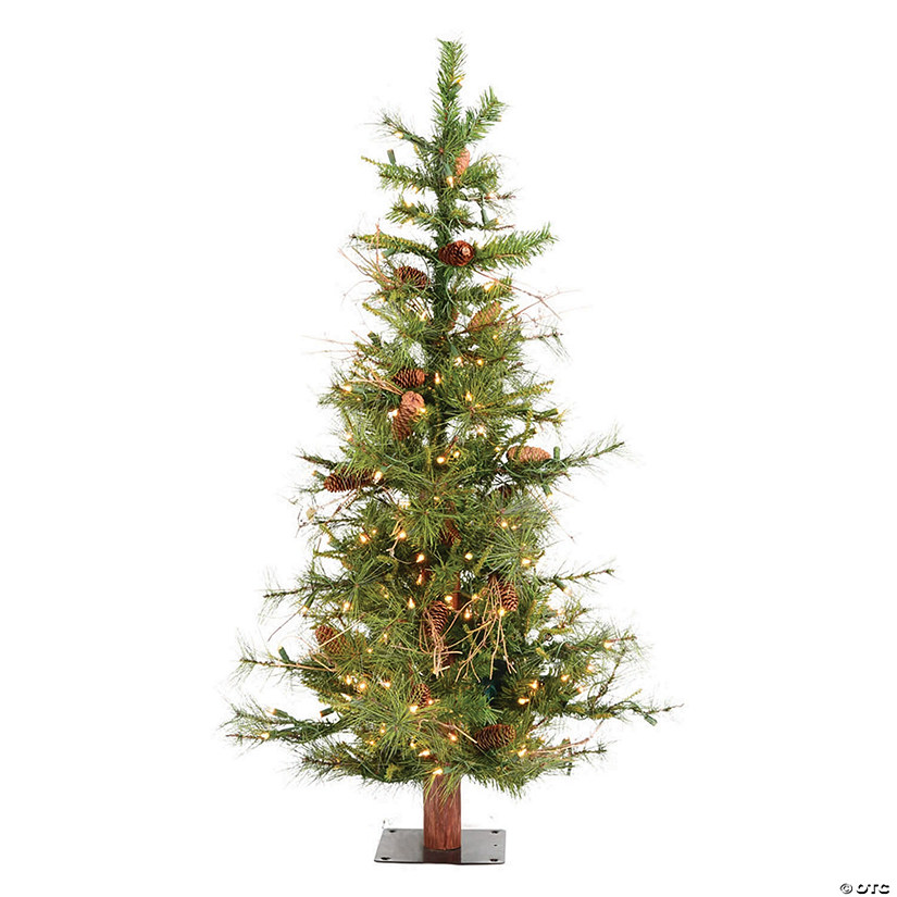 Vickerman 5' Ashland Christmas Tree with Clear Lights Image Thumbnail