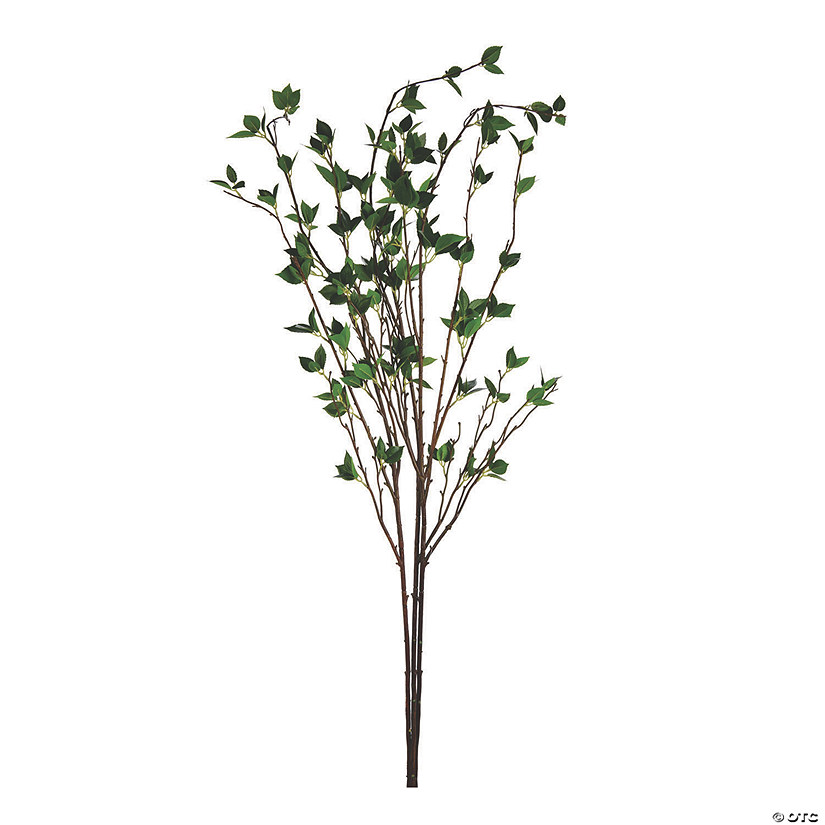 "Vickerman 53"" Green Cherry Leaves Spray Audio Thumbnail"