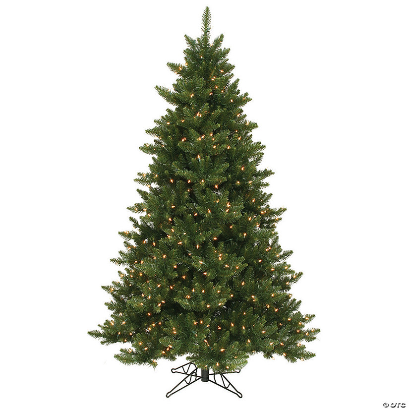 Vickerman 6.5' Camdon Fir Christmas Tree with Clear Lights Image Thumbnail