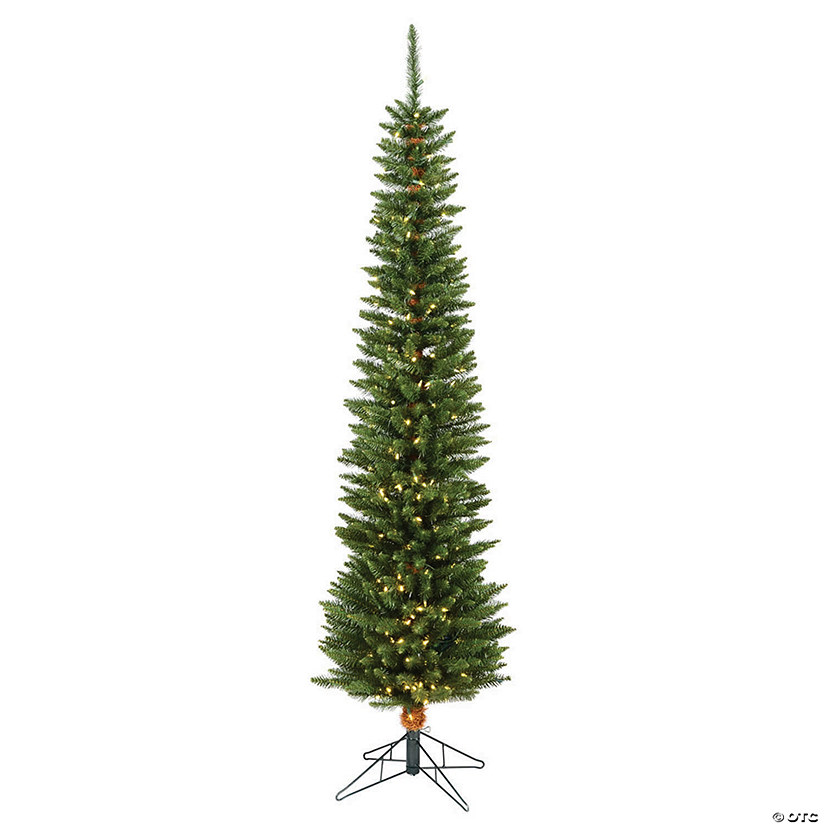 Vickerman 6.5' Durham Pole Pine Christmas Tree with Warm White LED Lights Image Thumbnail