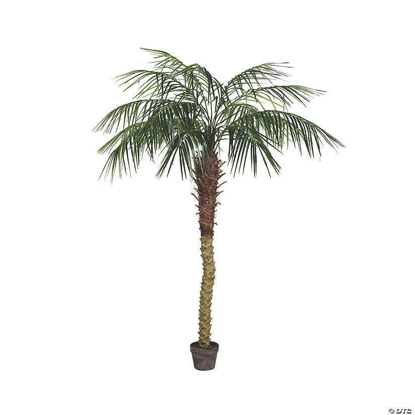 Vickerman 6' Artificial Potted Pheonix Palm Tree Image Thumbnail