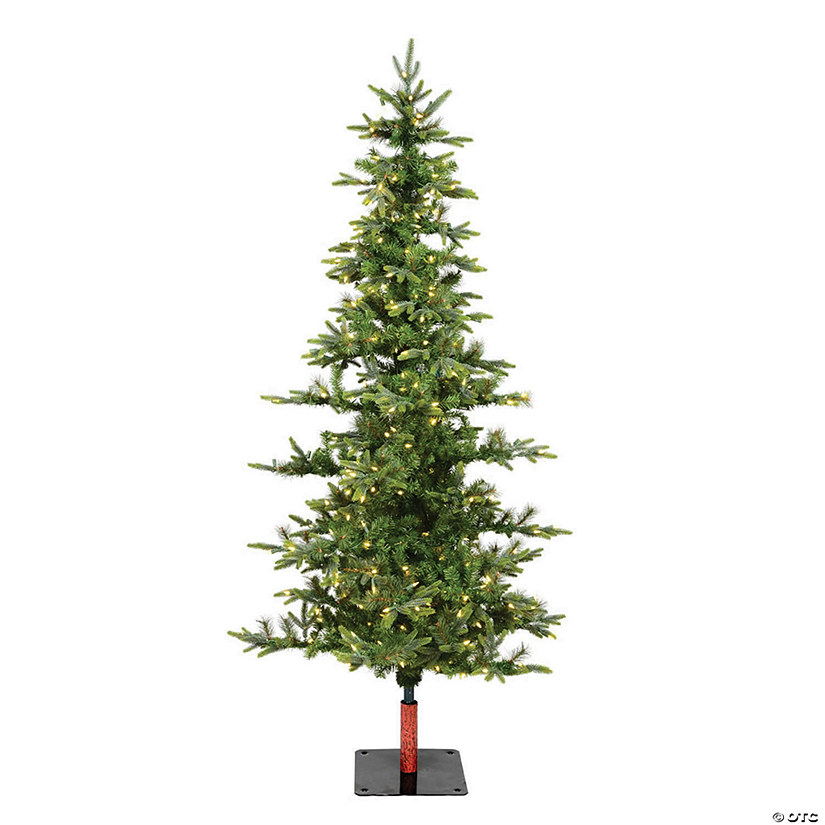 Vickerman 6' Shawnee Fir Christmas Tree with Warm White LED Lights Image Thumbnail