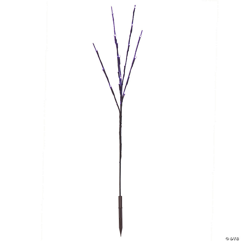Vickerman Purple LED Twig Lights