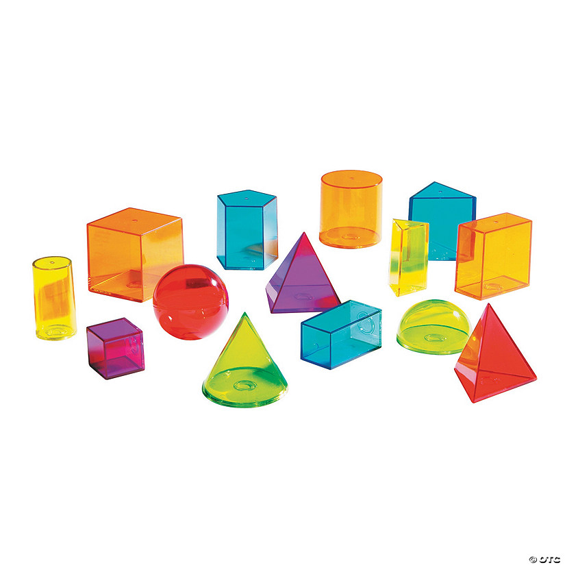 View-Thru® Geometric Blocks