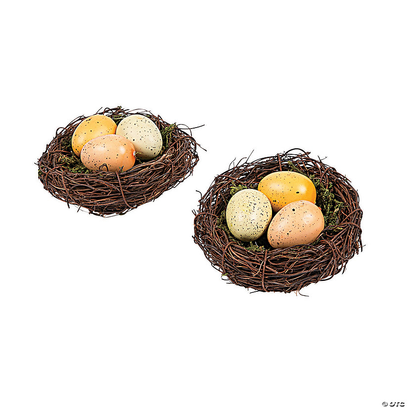 Vintage Easter Nests with Eggs Audio Thumbnail