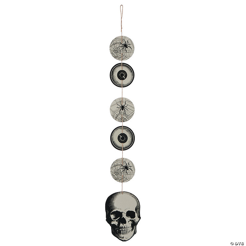 Vintage Hanging Halloween Decorations Image Thumbnail