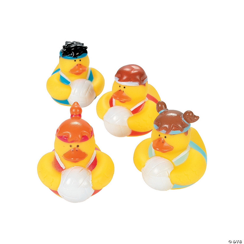 Volleyball Rubber Duckies
