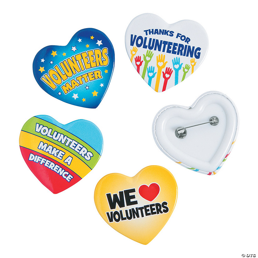 Volunteer Pins