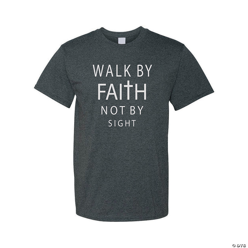 Walk By Faith Adult's T-Shirt Audio Thumbnail