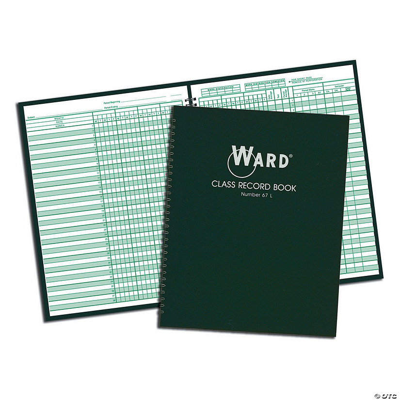 Ward Class Record Book, 6 to 7 weeks - Pack of 4 books