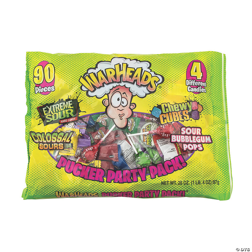 Warheads<sup>®</sup> Pucker Party Pack Candy Assortment