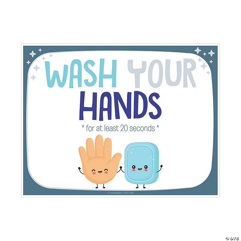 Wash Your Hands Wall Decal Image Thumbnail
