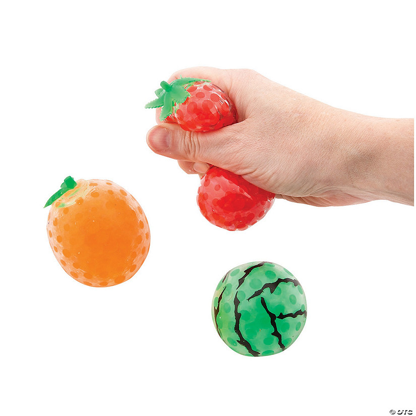 Water Bead Squeeze Fruits Audio Thumbnail