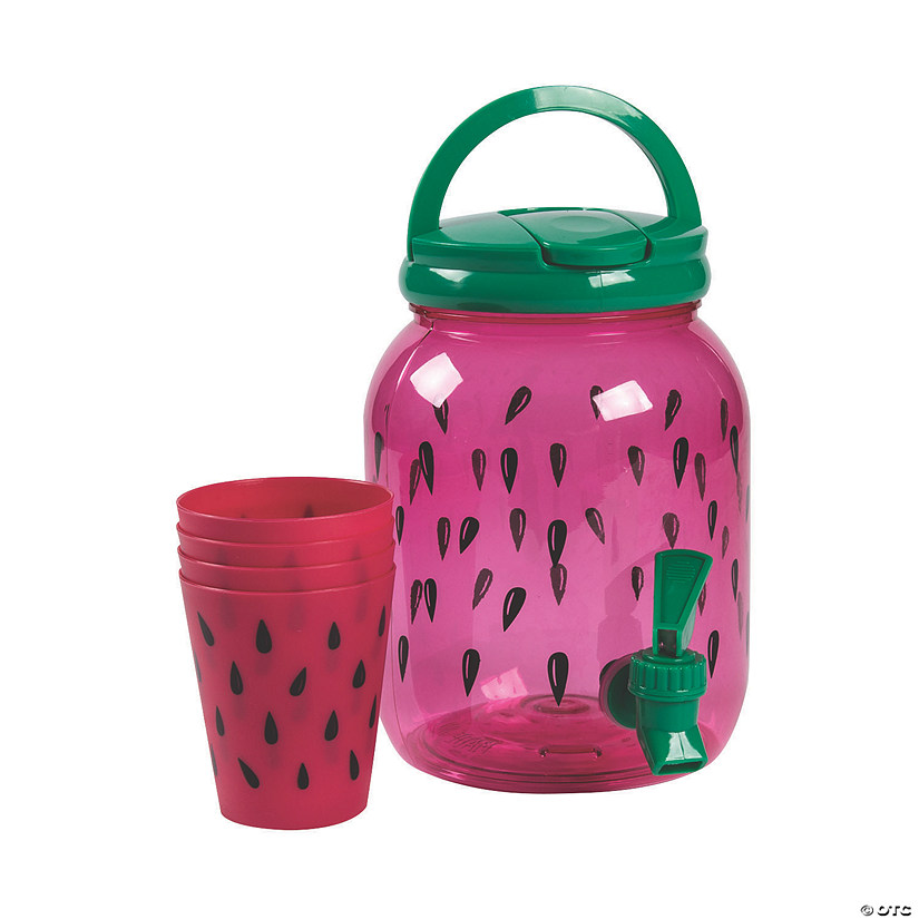Watermelon Drink Dispenser with Cups Audio Thumbnail