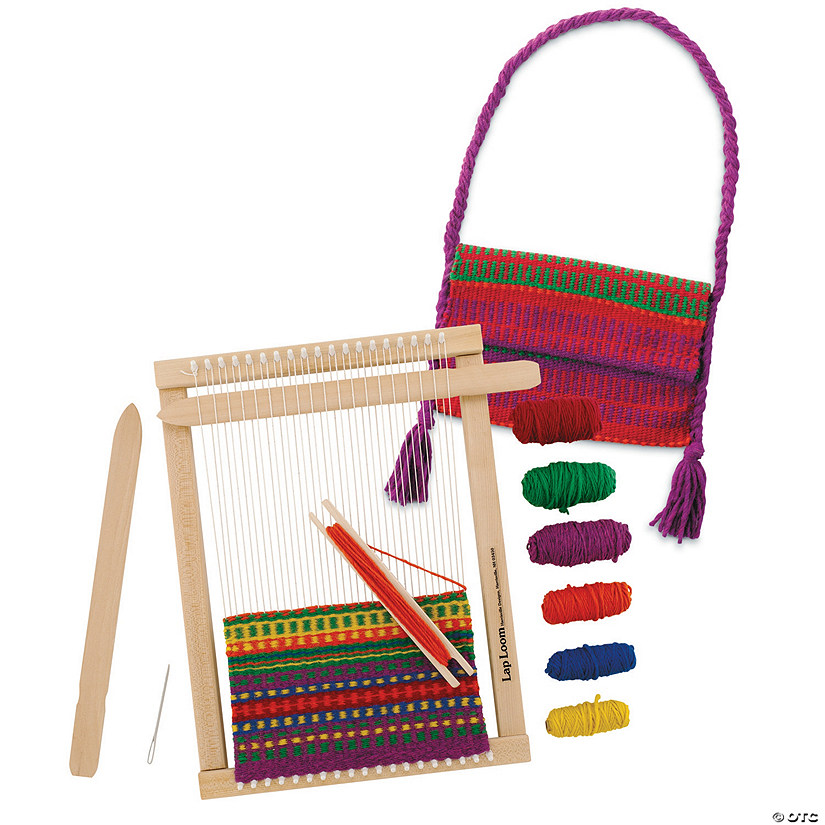 Weaving Loom and Accessories: Set of 3