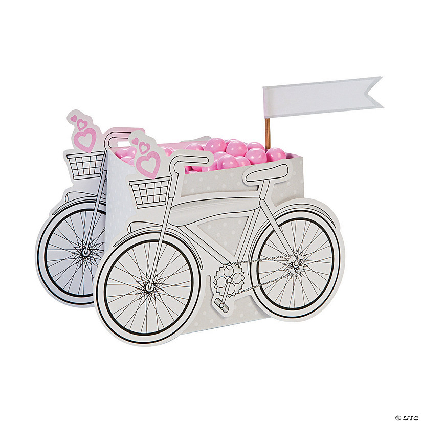 Wedding Bicycle Favor Boxes