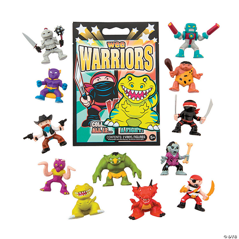 Wee Warrior Characters Blind Bags Audio Thumbnail