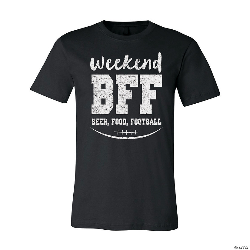 Weekend BFF Adult's T-Shirt Image Thumbnail