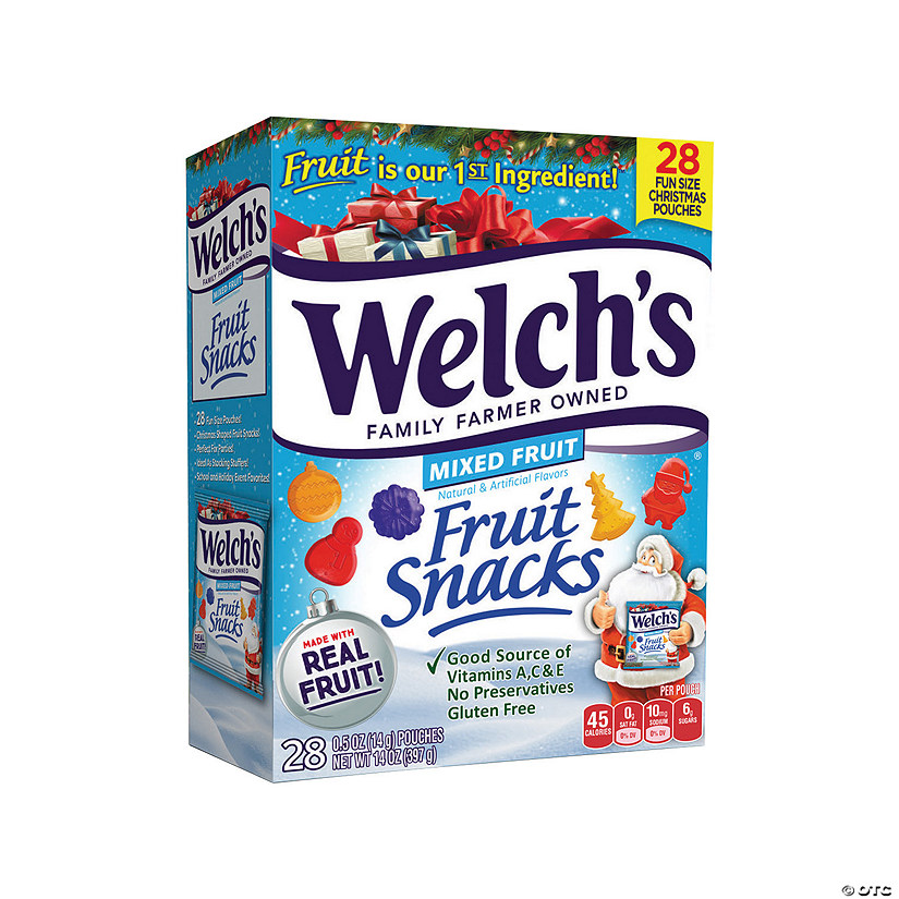 Welch&#8217;s<sup>&#174;</sup> Christmas Fruit Snacks Image Thumbnail