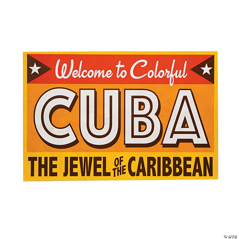 Welcome to Colorful Cuba Sign