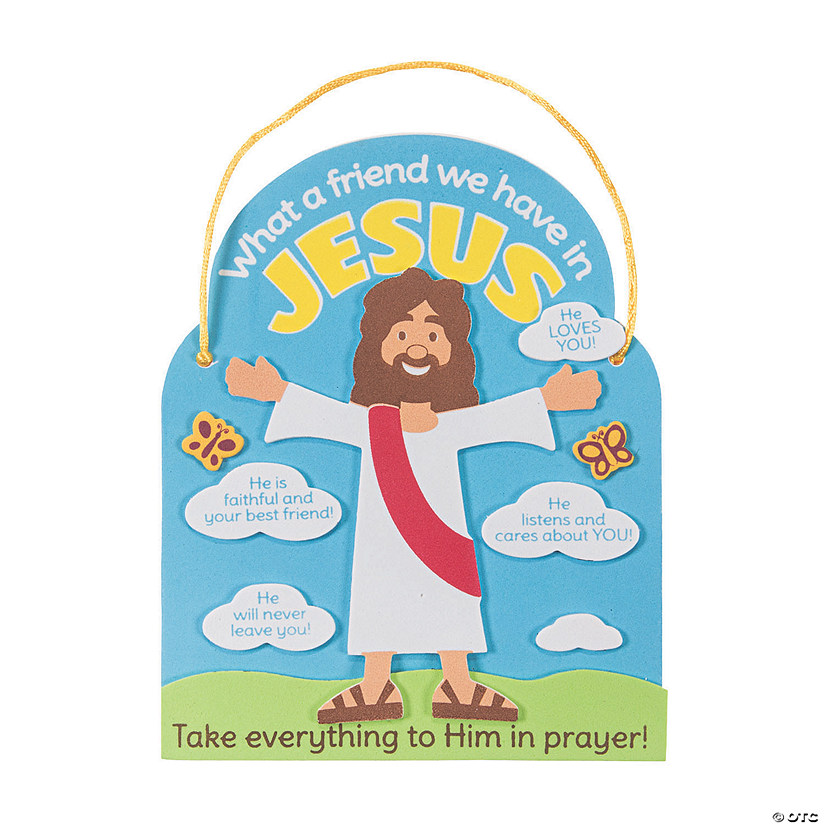 What a Friend We Have In Jesus Craft Kit Image Thumbnail