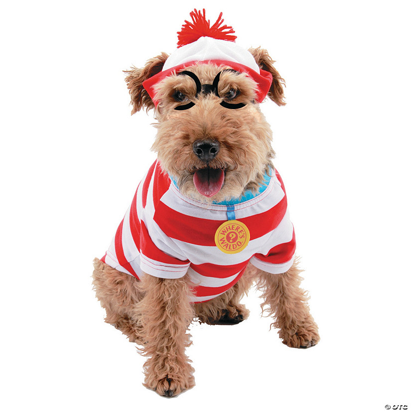 Where's Waldo? Woof Dog Costume