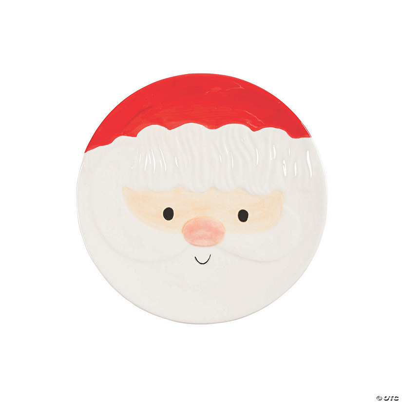 Whimsical Christmas Ceramic Plate Audio Thumbnail