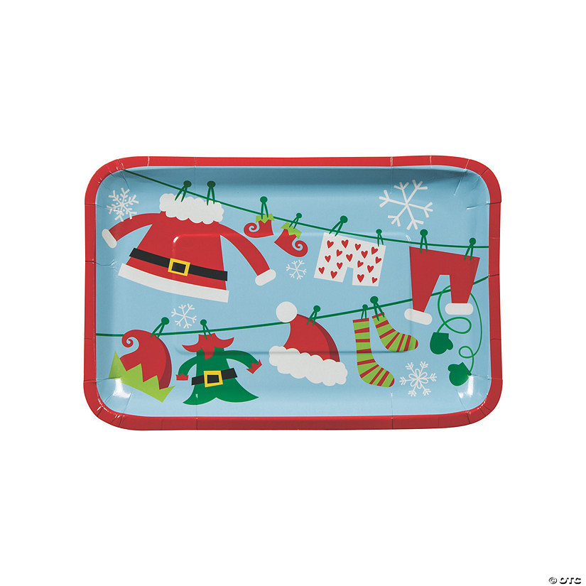 Whimsical Christmas Paper Appetizer Plates Audio Thumbnail