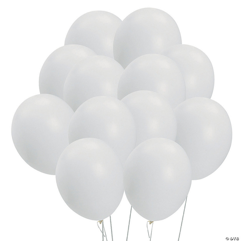 "White 11"" Latex Balloons Audio Thumbnail"