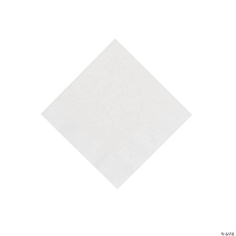 White Beverage Napkins Audio Thumbnail