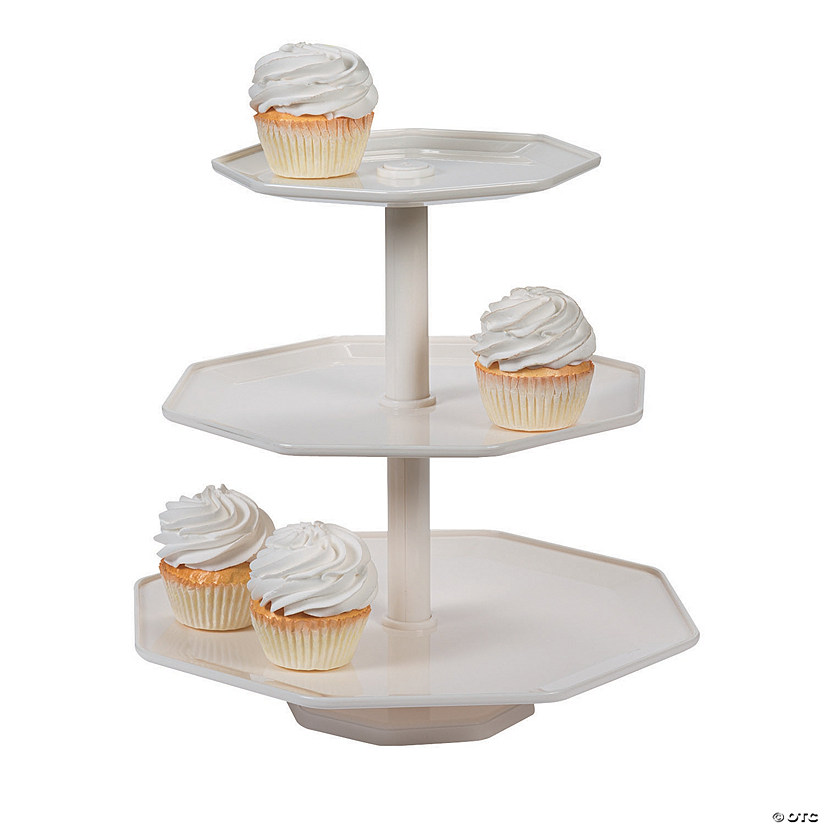 White Cupcake Stand Audio Thumbnail