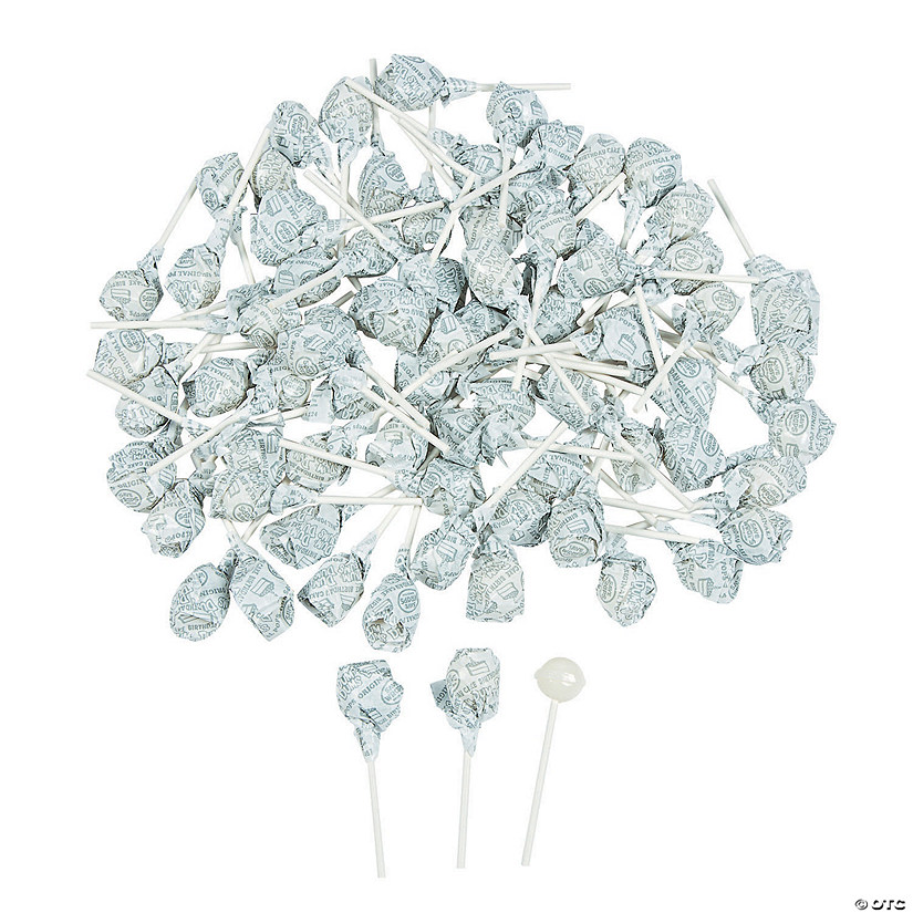 White Dum Dums<sup>&#174; </sup>Solid Color Lollipops Audio Thumbnail