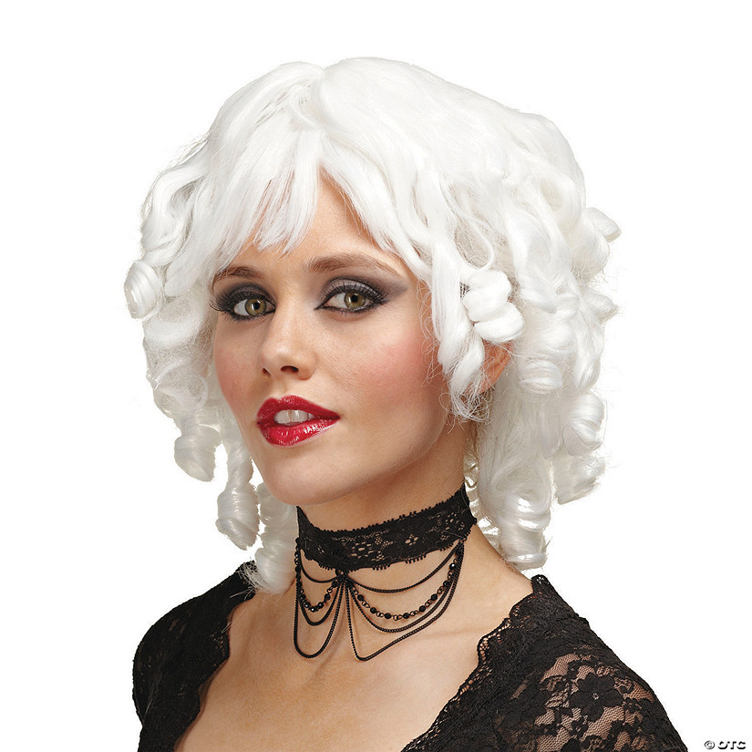 White Ghost Doll Wig