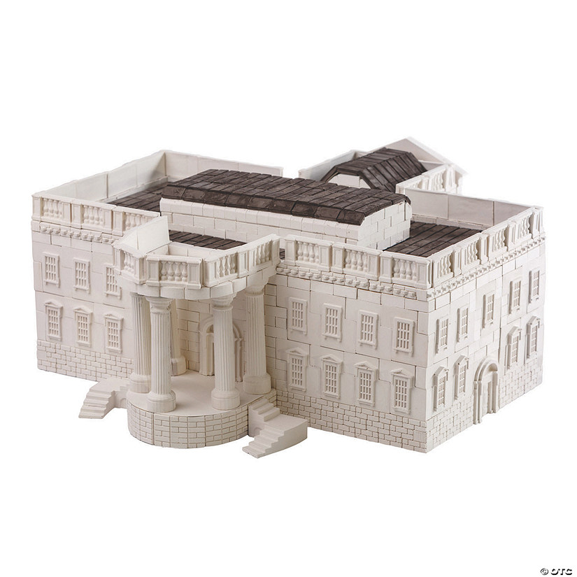 White House Re-Usable Brick Construction Set Image Thumbnail